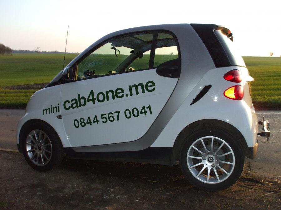 """Экологичное такси """"cab4one"""""""