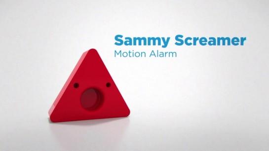 Сэмми - датчик движения