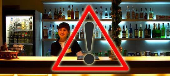 Запрет продажи алкоголя в заведениях общепита