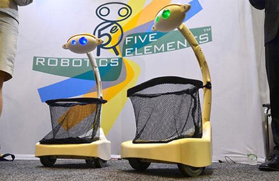 Робот-носильщик Budgee