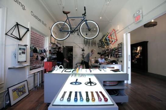 Велосипед со светоотражающей рамой Mission Bicycle