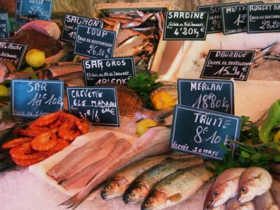 Магазин рыбной продукции
